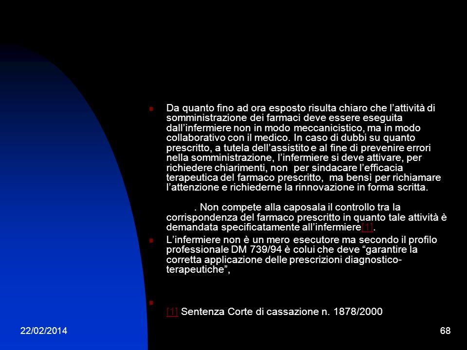 [1] Sentenza Corte di cassazione n. 1878/2000